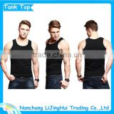 Men singlet: Wholesale blank gym mens stringer singlet/running singlet for men/men cotton singlet