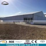 Alibaba china supplier large storage tent with pvc hard wall, durable warehouse tent for sale