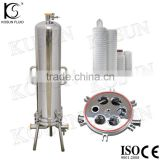 stainless steel saintary ss cartridge filter housing membrane filter holder for millipore filter