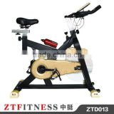 2016 New design commercial gym master spinning Bike ZTD013 motorized exercise bike with 13kgs flywheel
