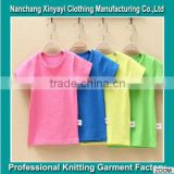 High Quality Multi Color Clothes Kids For Wholesale Bulk Plain White T Shirt China