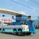 Lifting 16 ton heavy duty tow truck wrecker and towing 60 ton wrecker tow trucks for sale