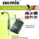 OK-8R Musical Instrument UHF/PLL Wireless Microphone