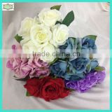 31cm purple rose bouquet artificial flower bouquet plastic