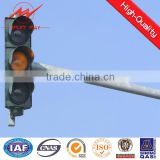 2016 hot sale traffic traffic light pole,8m street light pole,solar street lights without pole