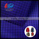 Polyester Yarn Dyed Rib Stop Fabric With PU/PVC Coating For Bags/Tent /Umbrella /Rain Coat/Jacket Using