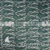 Professional Direct Factory Price Nigerian Green Fabric Cord Lace In Green And Orange For Wedding