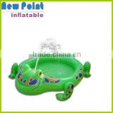 Mini frog inflatable swimming pool for kids , inflatable swimming pools for sale,pool toys for adults