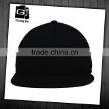High quality customized mesh 6 panel flat brim blank trucker caps