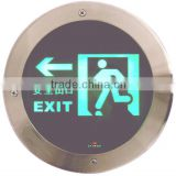 Buried emergency exit light