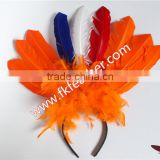 Best Selling Products In Europe Turkey Feather Party Headdress