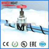 Snowstorm Driveway Melting Protection Self Regulation Heating Cable System