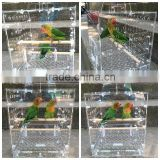 wholesale acrylic pets house small animal house bird cage                                                                         Quality Choice
