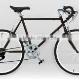 popular sale steel frame 24 inch 6 speed road bike made in China                                                                                         Most Popular