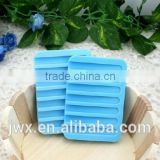High quality silicone soap holder soap drying tray with opp bag packaging                                                                                                         Supplier's Choice