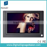 ir motion sensor activated 7 inch lcd flintstone desktop standing remote control digital signage