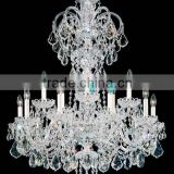 Bohemia Crystal Prisms Chandelier Cristal Lamps Glass Pendant Light Lighting Modern Chandeliers CZ3013/15
