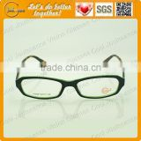 Double colors china professional supplier high quality 2012 latest optical eyeglass frames