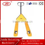 Instock China Factory sell manual forklift pallet truck type with scale