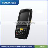 RFID smart card reader wireless handheld PDA RFID reader with GPRS ,bus payment/ticket terminal