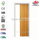 JHK-F01 PVC Soundproof Accordion Bamboo Folding Interior Door                                                                         Quality Choice