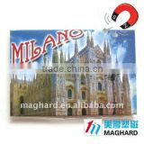 Tourist souvenirs MILANO Church of Duomo Fridge Iron Magnet