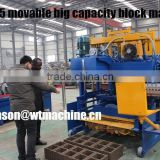 WT10-15 hot sale construction wall automatic machine introduction price concrete block machine