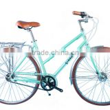 26 size high quality elegant shaft drive city bike lady bike with Nexus 3 speed without chain KB-CB-M16031