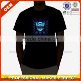 EL Man Sound Activated Custom Led Light T Shirt