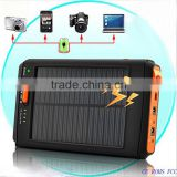 5v/12v/16v/19v Voltage adjustable high capacity 11200mah universal solar power bank for laptops and mobile phones
