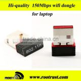 2.4G Ralink RT5370 Chip network lan card Mini Wireless 150Mbps USB Wifi Adapter 802.11 w/ RT-UW01