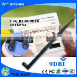 2.4G 9dBi high gain WiFi Rubber antenna