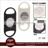 Hot sale Practical Portable Stainless steel Plastic Cigar cutter cigar guillotine