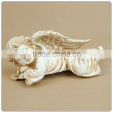 Resin crafts baby angel middle size for sleeping untique angel