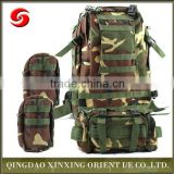 Army Tactical Molle Assault Backpack with additional pack, waterproof military digital camouflage tactical backpack