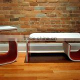 customized acrylic table top quality korean dining table