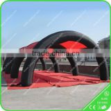 Paintball inflatable tent, inflatable camping tent used