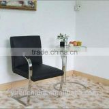 Brno Flat leather Chair/sex chair design New design metal conference Chair