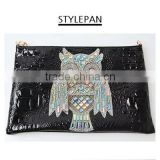 [UAH]OWL BAG/Character/ Bag/ Clutch/ Hand bag/ Fashion bag/ Women's bag