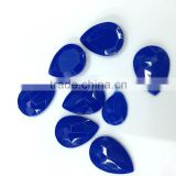 tear drop pear royal blue candy customized color OEM hobby supplier jewels gems acrylic rhinestones embelishement candy