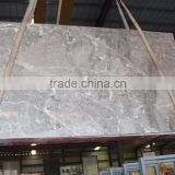 China's grey cloud; Brushed with Italian glue; grey marble slabs
