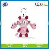 China Manufacturer NICI brand stuffed plush Mini doll keychain plush NICI bunny keyring