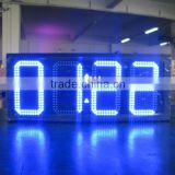 Outdoor led electronic scoreboard,led digital scoreboard/led perimeter digital clock display/Shenzhen led glow board