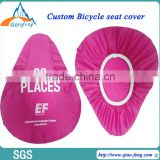 custom printed seat covers bike advertising bicycle seat cover