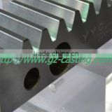 China supplier OEM&customized low cost steel gear rack