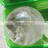 21kgs natural rock clear quartz stone crystal balls for sale