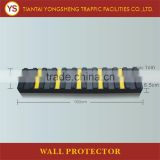 Yellow Reflective Rubber Csr Parking Bumpers With Different Sizes