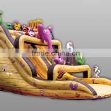 Hot Selling Children's inflatable outdoor inflatable water slide for sale
