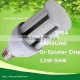 Hot sale Bombillas de led de 36 W para farolas y campanas industriales E27 cornlight made in China