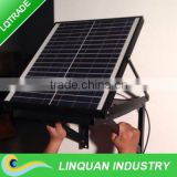 12 inch 12W Solar wall mounted exhaust fan for agricultural application